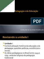 AULA SOBRE CONCEITOS DE PEDAGOGIA, HISTÓRIA E EDUCAÇÃO...