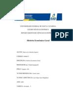 História Econômica Geral (Atividade - 5) Marcos Aguirra