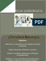 PROF. COVARRUBIAS CONCIENCIA QUIRURGICA