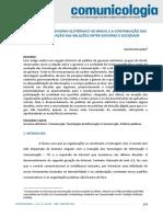 Artigo - A evolução do governo eletrônico no Brasil e a contribuição das TIC na redefinição das relações entre governo e sociedade