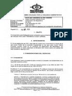 Investigación contra Gobernador del Magdalena por no informar sobre sus salidas del país