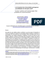 Artigo - Websites e páginas do Facebook das Universidades Portuguesas novas possibilidades de interação social