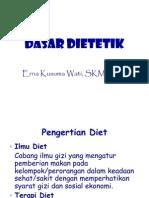 dasar dietetik