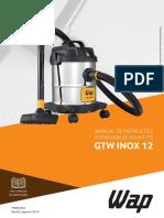 Aspirador WAP - GTW-INOX-12
