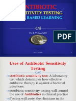 Antibiotic Sensitivity Testing In