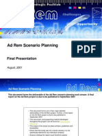 Ad Rem Scenario Planning