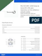 SNL 510-608 + 2210 Caixas de Mancal SE e SNL Para Rolamentos Com Furo Cilíndrico e Vedações Padrão_20210920