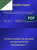 injuria hepatica aguda