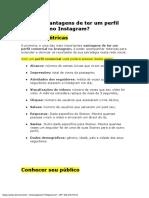 Instagram comercial PDF
