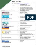 ASSL Product list