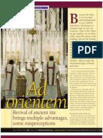 Ad Orientem by Bishop Edward J. Slattery, Diocese of Tulsa, OK