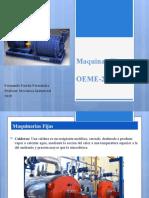Maquinas Fijas OEME-2021
