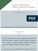 A urgência generalizada- PP Andrea