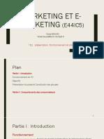 TD1 Marketing et e-marketing