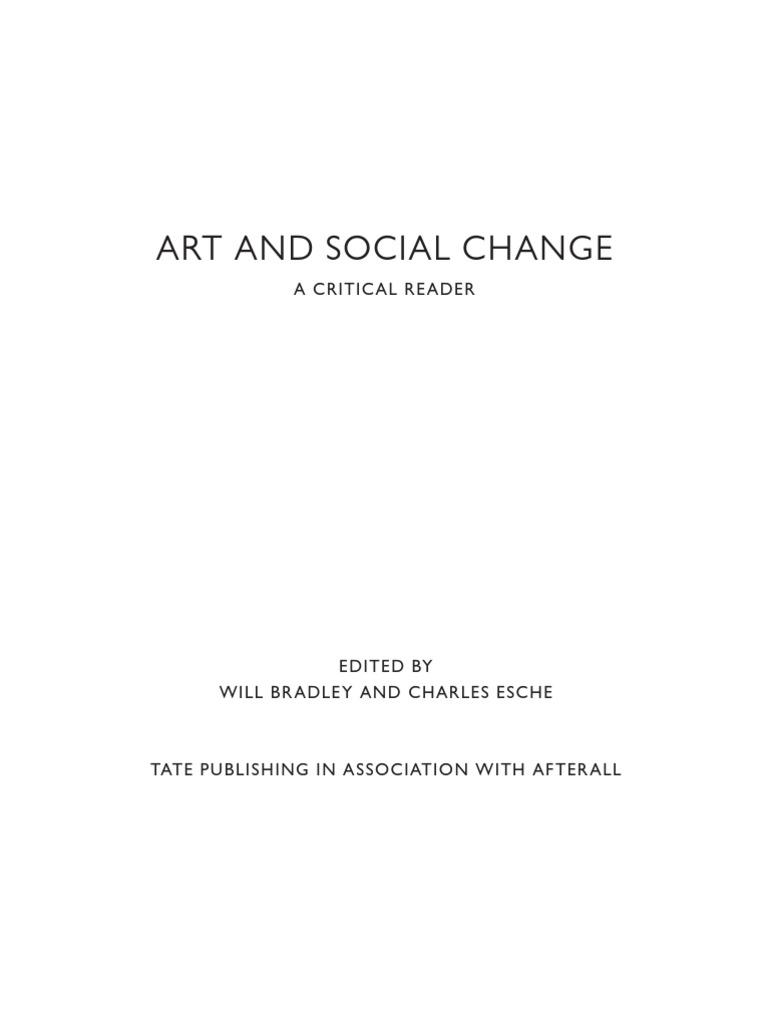 Art and Social CHange a Critical Reader  050b428ebb857