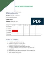 Plan de Trabajo Auxiliatura Mat 1136 2-2021
