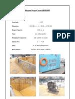 Brochure of seven split hopper barges