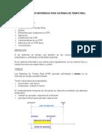 arquitectura de referencia para sistemas de tiempo real