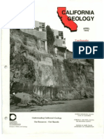 California Geology Magazine April 1990