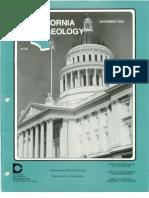 California Geology Magazine December 1990