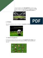 Las Reglas Del Futbol Con Imagen Luis