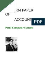 Patni cmputr systems