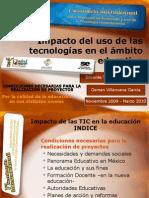Impacto del uso de las tecnologías en el ámbito educativo