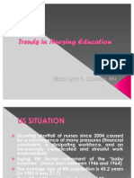Trends in Nursing Education