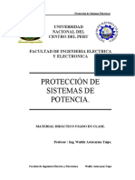 Protección de sistemas de potencia - 2009-II