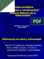 TRIADA ECOLOGICA HISTORIA NATURAL DE LA ENFERMEDAD[1]