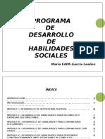 PROYECTO HABILIDADES SOCIALES