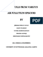 AIR POLLUTION COURSEWORK FINAL  REPORT
