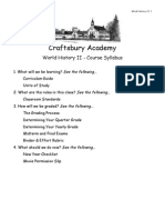 Syllabus - World History II