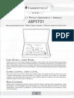 Istruzioni Aerografp Timbertech ABPST01 - Copia