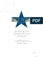 bluepoint menu