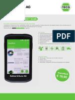 RECA Direct Scan Datenblatt