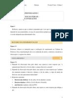 Caderno do Aluno By:Patrick - Ciências - 1° Bimestre