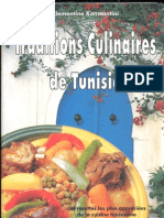 Traditions Culinaires de Tunisie