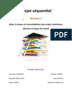 1 TC Genre Et Types de Textes Projet(1)