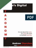bloom's Digital taxonomy v3.01