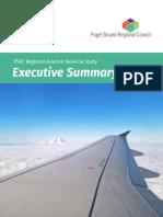 PSRC - Regional Aviation Baseline Study Executive Summary