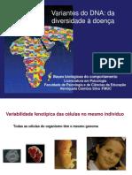 2018-19 Variabilidade genética normal e associada à doença