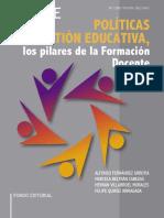 Políticas y Gestión, Educativa los Pilares de la Formación Docente