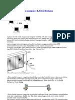 Membuat Jaringan Komputer LAN Sederhana