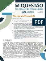 Atlas Da Violencia 2021 - Ipea