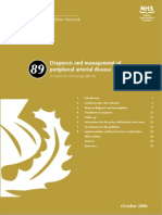 Diagnosis and management of PAD