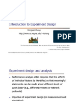 4 - Introduction to Experimental Design
