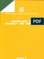 Module 4 Facilitator's Guide_Surveillance of Morbidity and Mortality