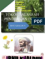 TOKOH FALSAFAH PENDIDIKAN ISLAM
