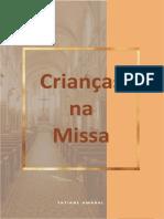 Livro Criancas Na Missa